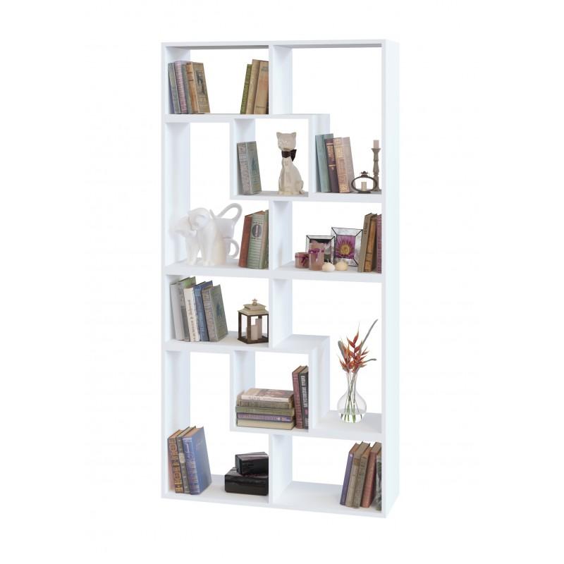 Стеллаж для дома 1800×900×296 Белый (СТ-900-белый)