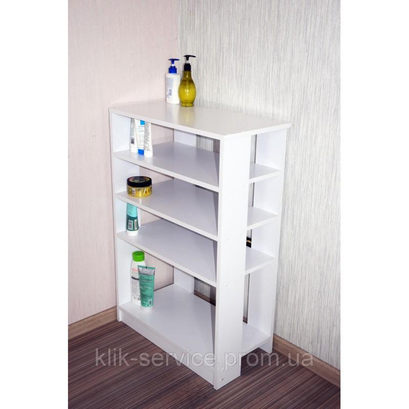 Стеллаж для обуви в дом или в офис 900х975х320 Белый (СТ-975-белый)