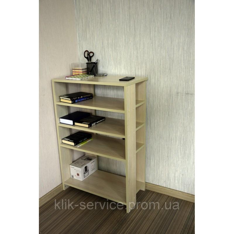 Уникальный и современный стеллаж для обуви и мелочи 900х975х320 Дуб сонома (СТ-975-Дуб сонома)