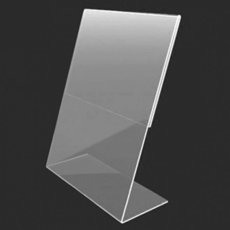 L-образный ценник 80*80 мм