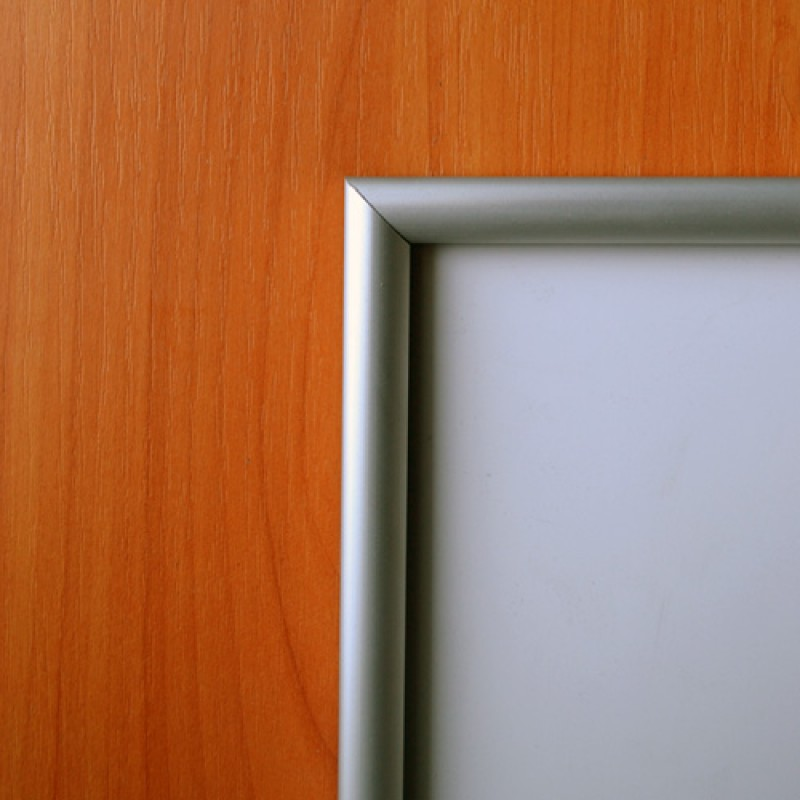 Рамка алюминиевая багетная А4 13 мм