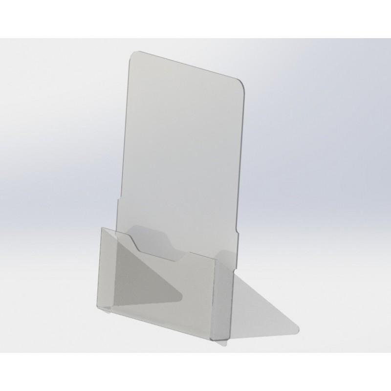 Менюхолдер А4 формата вертикальный настольный