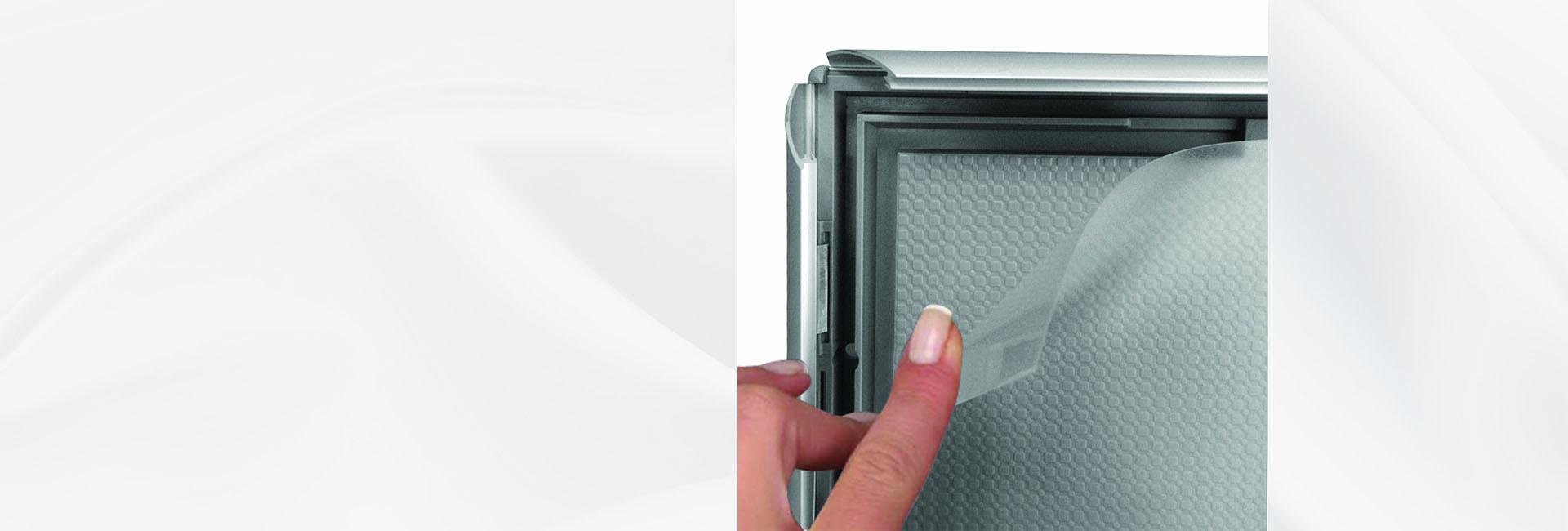 Односторонняя светодиодная рамка на профиле 50 мм любого размера